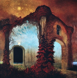Oil Painting by Beksinski from http://beksinski.dmochowskigallery.net/index.html