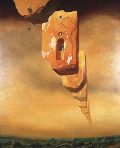 Oil Painting by Beksinski